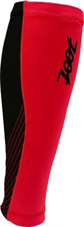 專業級肌能壓縮小腿套 2.0(黑-時尚紅)