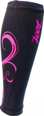 專業級肌能壓縮小腿套 2.0(黑-桃紅)
