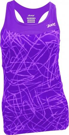專業級美背式鐵人上衣(女)(薰衣紫)