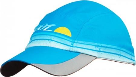 COOLMAX反光型運動跑帽(水藍)