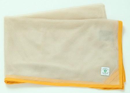 高級驅蟲防蚊透氣網布 (柑橘黃)