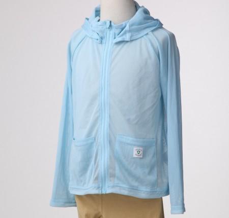 特級呵護寶貝驅蟲防蚊透氣外套 (晴空藍)