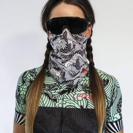 ZOOT Ultra Cooling 冰涼透氣頭巾 - 龍紋銀