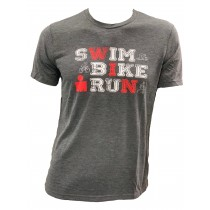 IM18 - Swim Bike Run T-Shirt (麻花)