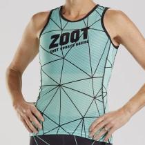 RACING 競速系列 - 快速排汗底層衣 - 湖水綠(女)