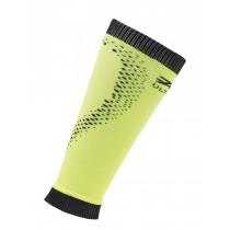 頂級運動型肌能壓縮腿套(螢光黃/黑)