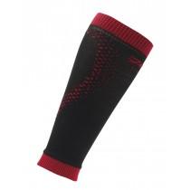 頂級運動型肌能壓縮腿套(經典黑/紅)