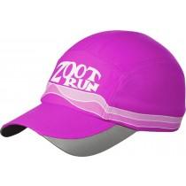 COOLMAX反光型運動跑帽(桃紅)