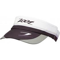 COOLMAX反光型拉帶中空帽(風尚白-黑)