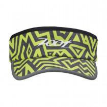 反光型彈性帶中空帽(閃電黃)