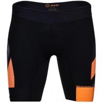 """ULTRA TRI 9"""" SHORT 頂級碳離子CC9吋鐵人褲(男) - 彩紋橘"""