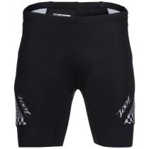 PERFORMANCE 專業級7吋肌能鐵人褲(男) - 格紋白
