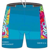 TRI KONA 世界盃限定版鐵人褲 (女) - 繽紛藍