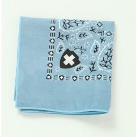 高級圖紋驅蟲防蚊帕巾 (晴空藍)