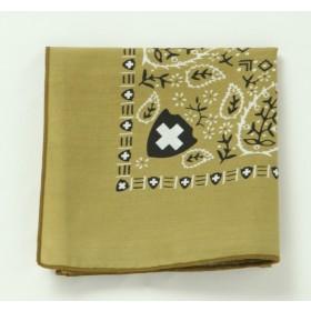 高級圖紋驅蟲防蚊帕巾 (橄欖綠)