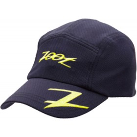 COOLMAX運動型跑帽(黑-亮黃)