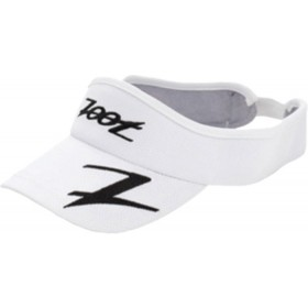 COOLMAX運動型中空帽 (白-經典黑)