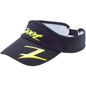COOLMAX運動型中空帽(黑-亮黃)