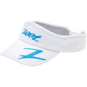 COOLMAX運動型中空帽(白-寶藍)