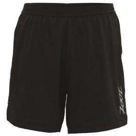 IceFil 6' 2IN1 Short頂級6吋冰涼感2合1肌能跑褲(男)(經典黑)