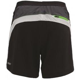 IceFil 6' 2IN1 Short頂級6吋冰涼感2合1肌能跑褲(男)(黑-白-翠綠)