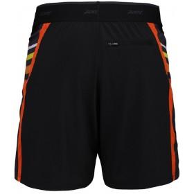 IceFil 7' 2IN1 Short冰涼感二合一7吋輕肌能跑褲(男)(黑-酷橘)