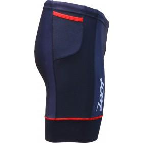 專業級8吋肌能鐵人褲(男)(黑/紅)