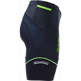 專業級8吋肌能鐵人褲(男)(黑-翠綠)
