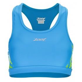 專業級美背式運動型Bra(女)(圖騰藍)