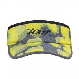 反光型彈性帶中空帽(檸檬黃)