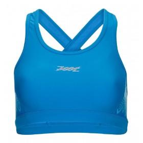 專業級美背式運動型Bra(女) - 圖騰藍