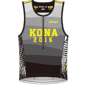 TRI KONA TANK世界盃限定版鐵人上衣 (男) - 幻象黑