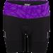 專業級6吋肌能鐵人褲(女)(黑-薰衣紫)